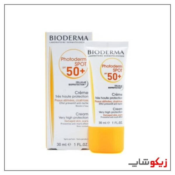 ضد آفتاب بایودرما مدل photoderm-spot